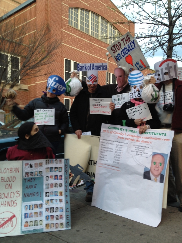 Crowley protest - Jackson Heights