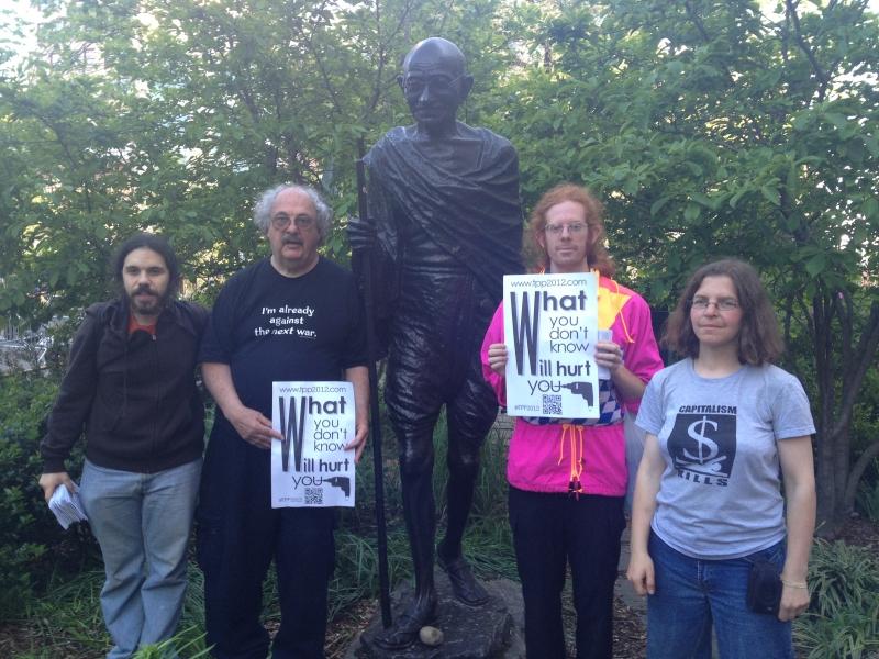 Gandhi Statute TPP Picture